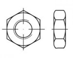 DIN 439 - 2 - Kontra Somun, Pahlı 1