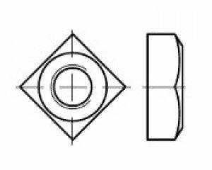 DIN 557 - Kare Somun 1