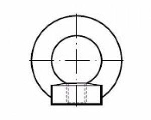 DIN 582 - Halka Somun (Mapa Dişi) 1